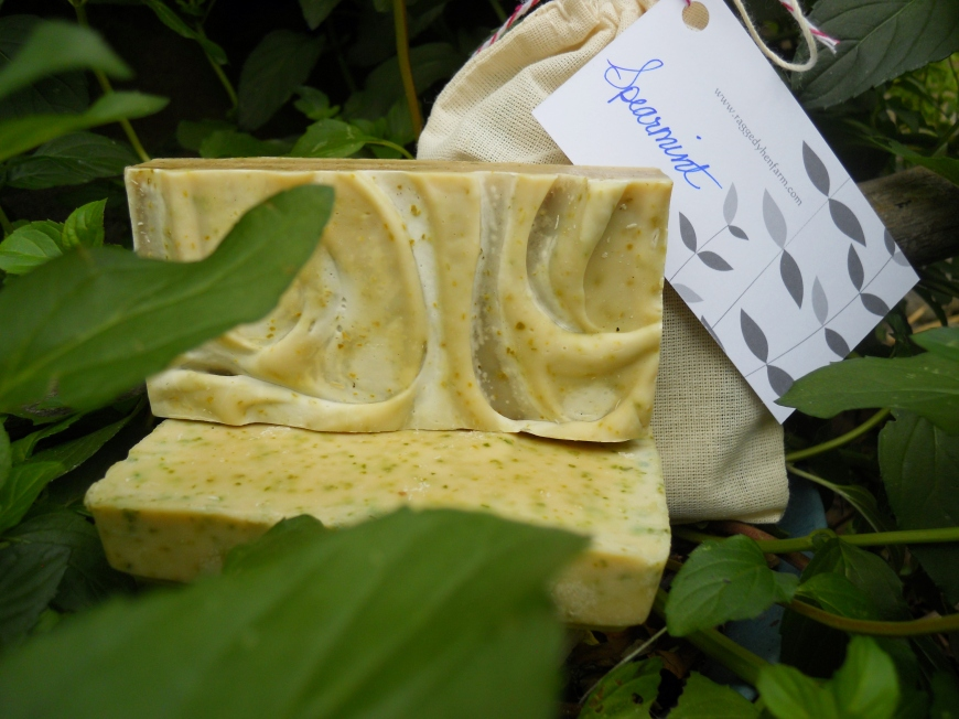 Natural Minty Goodness...Spearmint Soap